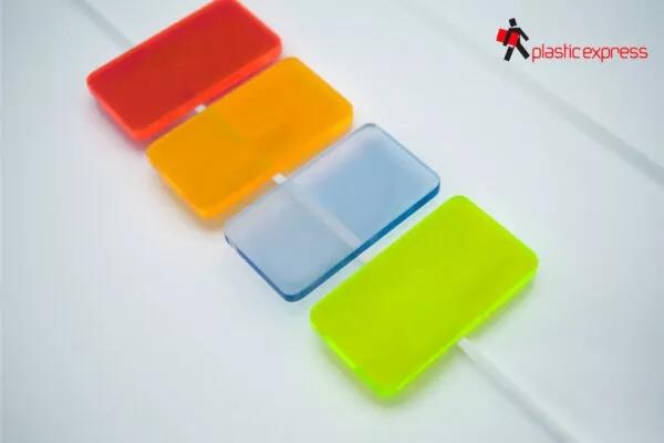 Metacrilato color fluorescente