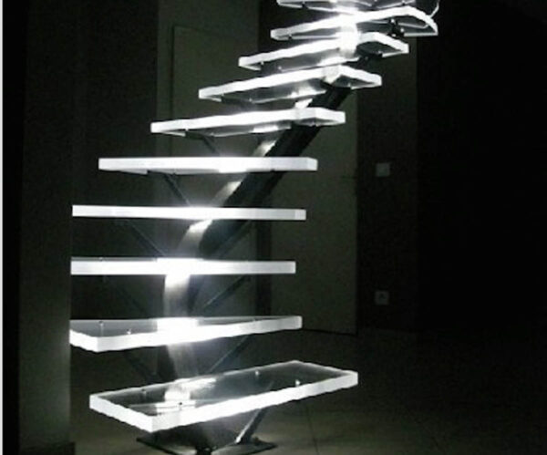 Colorless methacrylate stairs