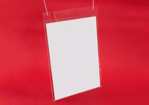 Methacrylate hanging folder
