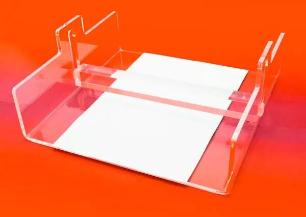 Methacrylate napkin holder